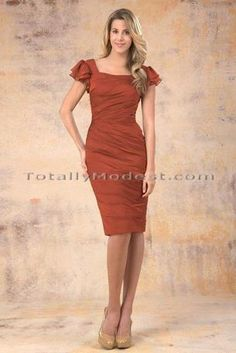 Valinda Totally Modest WEDDING dresses, PROM & Bridesmaid dresses w/ sleeves