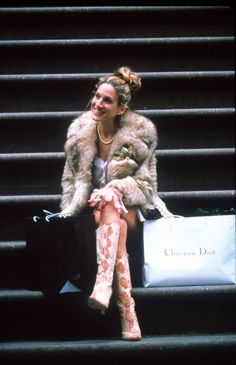 Icon: Carrie Bradshaw. One of my favourite series Sex and the City