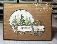 A La Cards: Merry Little Shaker Card