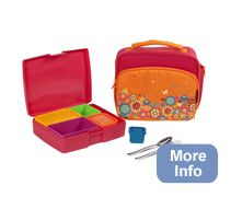 Laptop Lunch Boxes -- I saw this on TV this morning and think it's a great idea, especially for kids!