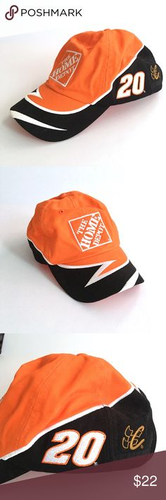 ❤ NWOT NASCAR Tony Stewart Hat New without tags // NASCAR Tony Stewart #20 Home Depot / Joe Gibbs Racing team // embroidered Adjustable Velcro unisex hat // Chase Authentic Drivers Line brand // Colors are orange, black, white // zig zag pattern on front // non-smoking home // 3.17.22 4o // Bundle Discounts NASCAR Accessories Hats