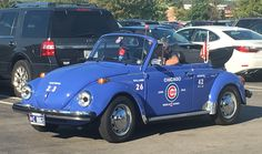 The halfway point between the 1908 & 2016 Cubs World Series championships is 1961. This #Volkswagen #Beetle was likely built within a generation of that. #EverybodyIn