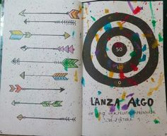 "Destroza este diario/Wreck this journal ""Lanza algo"" ""Throw something"" #Paint"