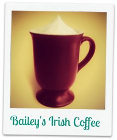 Irish Coffee with Baileys Liquor (Recipe) Irish Coffee Recipe With Baileys, Baileys Irish, Holiday Treats, Holiday Recipes, Baileys Liquor, Baileys Recipes, Beverages, Drinks, Coffee Recipes