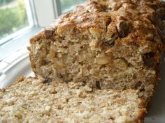 brown butter banana oat bread - made this tonight and can't wait for breakfast tomorrow!