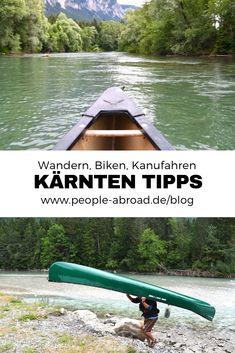 Werbung / Outdoor-Tipps für Kärnten #Wandern #Biken #Kanufahren #Outdoor Outdoor Reisen, Travel Tips, Travel Destinations, Reisen In Europa, Closer To Nature, Travel Companies, Hiking Trails, Outdoor Travel, Adventure Travel