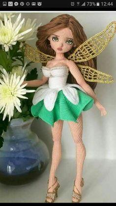 Tinker bell amigurumi