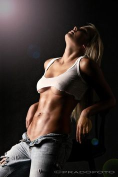 Abs in jeans, hot! #fitness #workout #motivation #gym