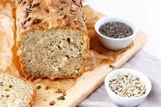 Dinkel-Joghurt-Brot mit Chia-Samen – What makes me happy