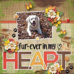 Furever in my heart Puck :( Dog Scrapbook Layouts, Scrapbook Designs, Scrapbook Journal, Scrapbook Sketches, Baby Scrapbook, Scrapbook Paper Crafts, Scrapbook Cards, Scrapbooking Ideas, Scrapbook Generation