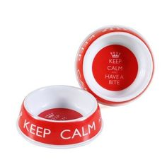 Comedouro Melamina - Keep Calm