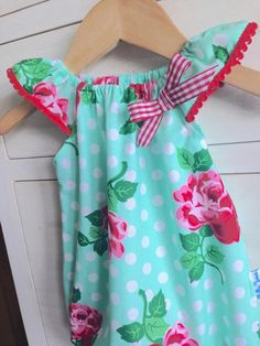 Green Polka Romper by NellieJanesShop on Etsy