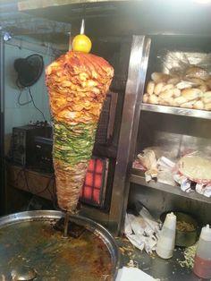 Chicken Shewarma at Mhmd Ali Road during Ramzan. Mumbai