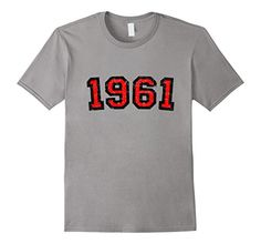1961 Birthday t-shirts & gifts with distressed letters for people born in the year 1961 and for anniversaries, birthdays and jubilees of all kind. Birthday t-shirts for people born in 1961, in the 60s, made in 1961, vintage 1961, celebrating their 56th, 57th, 58th, 59th, 60th, 61st, 62nd, 63rd, 64th, 65th, 66th, 67th, 68th, 69th, 70th birthday, sixty or seventy years old.