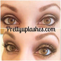 """Dress your lashes in Younique's 3d fiber lash mascara! """"After using this mascara, my lashes feel naked with my old 'favorite' mascara. I had no idea what my lashes could look like with the right mascara."""" Available at prettyuplashes.com"""