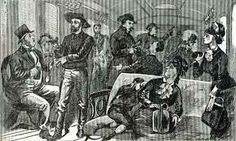 Gads Hill, Mo train robbery - Jan 31, 1874 - was one of many blamed on the James - Younger gang between 1866 and 1882.