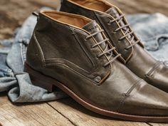 REHAB Lennox Classic Stone #rehabfootwear #classiccollection #lennox #trendy #comfortable #stone #qualityleather