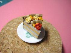 quilled cake - torta al cioccolato