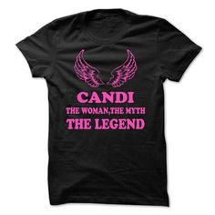 CANDI - The Woman The Myth The Legend - #vintage shirts #hoodie sweatshirts. ORDER HERE  => https://www.sunfrog.com/Names/CANDI--The-Woman-The-Myth-The-Legend.html?id=60505