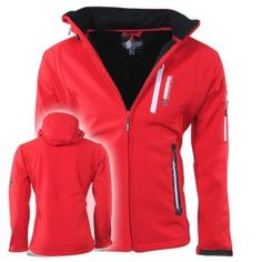 Geographical Norway - Heren Softshell Jas - Tevet - Rood