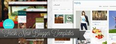 Gorgeous New Blogger Templates That You Will Love