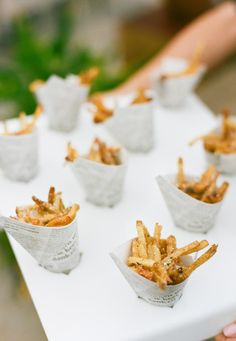Our Favorite Wedding Eats Ever | https://www.theknot.com/content/best-wedding-food-ideas