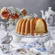 Ihannekakku | Maku Baking Recipes, Cake Recipes, Finnish Recipes, Coffee Bread, Sweet Pastries, Bread Cake, World Recipes, Homemade Cakes, Diy Food