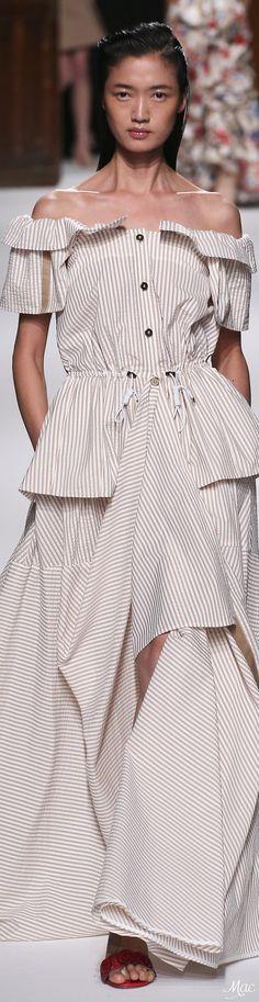 @roressclothes closet ideas #women fashion striped dress