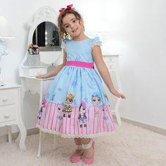 Lol, Diy Doll School Supplies, Minis, Baby Girl Dresses, Summer Dresses, Ideas, Products, Fashion, Little Girl Birthday