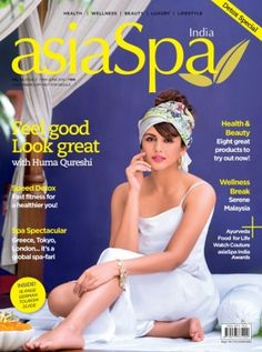 It is India's wellness #lifestyle magazine and is dedicated to the concept of wellness.  Feel good Look great with Huma Qureshi. Order Now & get discount + gift hampers. 1 Year Subscription- 10% Discount + Kiana Aqua Soothing Cleansing Gel. 2 Years Subscription- 20% Discount + Kiana Stem Cell Serum. 3 Years Subscription- 30% Discount + Kiana Stem Cell Ampoule. Subscribe here-->