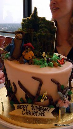 Splash Mountain Cake at California Grill Disney Cakes, Disney Food, Disney Theme, Disney Stuff, Fancy Cakes, Cute Cakes, Birthday Treats, Birthday Stuff, 30th Birthday