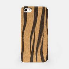 Tiger Stripes iPhone case