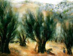 View Springtime in Galilee by Reuven Rubin on artnet. Browse upcoming and past auction lots by Reuven Rubin. Jewish Art, Olive Tree, Cityscapes, Spring Time, Past, Landscapes, Artists, Painting, Spiritism