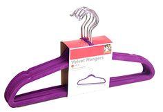 Purple Velvet Hangers