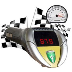 The V8 sound racer is a great mens gift idea, it makes your car sound like a v8 super car, it connects to your radio and measures the cars revs and plays the sound through the cars radio system and it's only $59.50