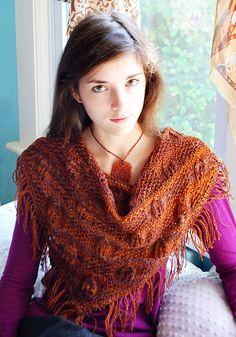 Free Pattern: Indigenous shawl