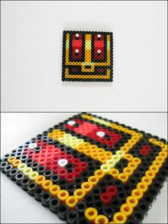 Link to the Past - Chest - bead sprite magnet