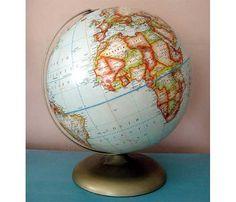 Vintage Rand McNally Political Globe Soviet by TheTinRoofCottage, $45.00