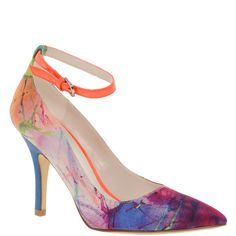 Aldo Mccamish Printed Pointed Court Shoes ($72) ❤ liked on Polyvore