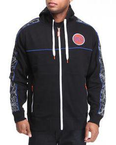 New York Knicks Lightning Fleece Hoodie