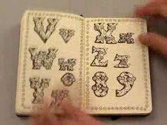 Paula Scher notebook - Alpha Doodles http://paulascher.com/ #typography #lettering