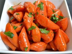 Honey balsamic carrots are an easy way to turn simple carrots into a succulent side dish.