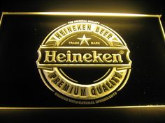 Heineken Premium Quality Logo Beer Bar Pub Store Light Sign
