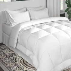 The Twillery Co. Erion Comforter Set & Reviews   Wayfair Down Comforter, Comforter Sets, Bedding, Home Bedroom, Bedroom Decor, Master Bedrooms, Country Quilts, Stylish Beds, Quilt Sets