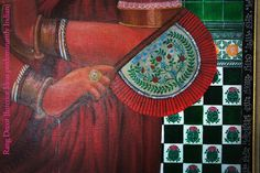 Love the romance and nostalgia of Bengali paintings and the old tiles! - Dithi