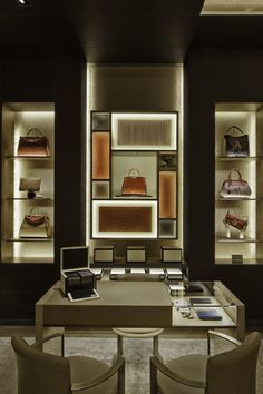 FENDI Montenapoleone, Milan designed by Curiosity.