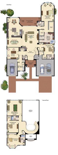 SEBASTIAN/754 Floor Plan (Large View)