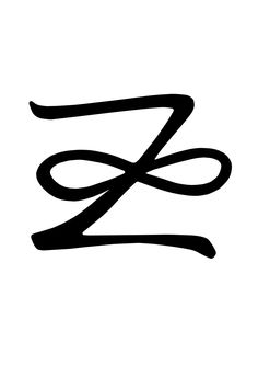 Zonar is a combination of both the well known infinity symbol and the lightning bolt.  Infinity in this case much like the auspicious knot identifies with the never ending cycle of life, and the interconnectedness of all things.