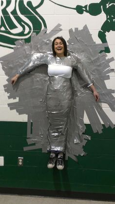 Elementary School: Here is a picture of the fun we had during our Tape A Teacher to the Wall Fundraiser