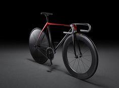 自転車も開発。市販予定はない。